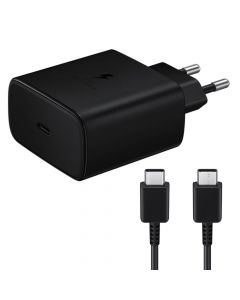 Incarcator Retea Type-C Samsung Super Fast Travel Charge 45W Black