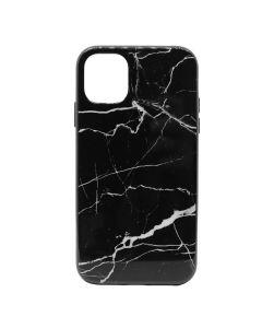 Carcasa iPhone 11 Meleovo Marble Black