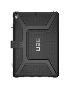 Husa iPad 7 10.2 inch UAG Book Metropolis Series Black