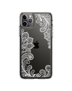 Husa iPhone 11 Pro Max Spigen Ciel Cecile White Mandala