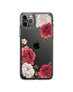Husa iPhone 11 Pro Max Spigen Ciel Cecile Red Floral