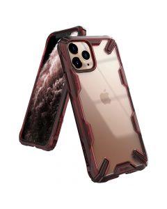 Husa iPhone 11 Pro Max Ringke Fusion X Rosu Rubin