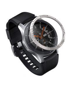 Samsung Galaxy Watch 46mm Ringke Rama Ornamentala Otel Inoxidabil Gri