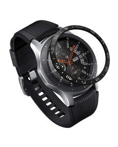 Samsung Galaxy Watch 46mm Ringke Rama Ornamentala Otel Inoxidabil Negru