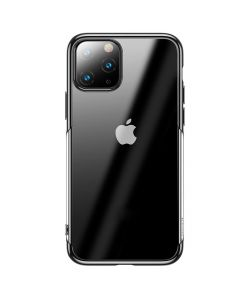 Husa iPhone 11 Pro Max Baseus Silicon Shining Black