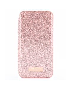 Husa iPhone 11 Pro Ted Baker Book Glitsyy Mirror Folio Rose Gold