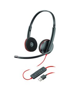 Casti USB Plantronics Stereo BlackWire C3220