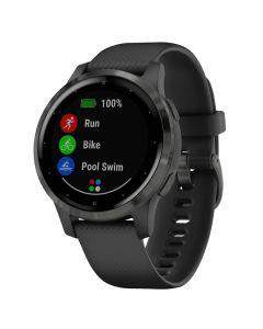 Smartwatch Garmin Vivoactive 4s Gray Slate, Silicone Black