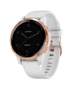 Smartwatch Garmin Vivoactive 4s Rose Gold, Silicone White