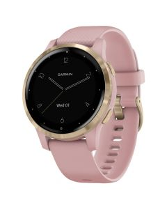 Smartwatch Garmin Vivoactive 4s Rose Gold, Silicone Dust Rose