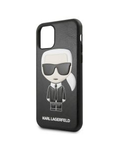 Husa iPhone 11 Karl Lagerfeld Colectia Ikonik Negru