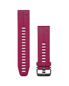 Curea QuickFit 20mm Silicon Garmin Red Cherry