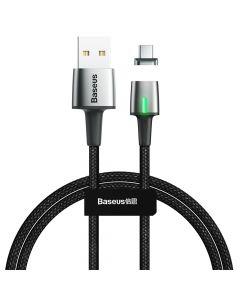 Cablu Type-C Baseus Zinc Magnetic USB Black