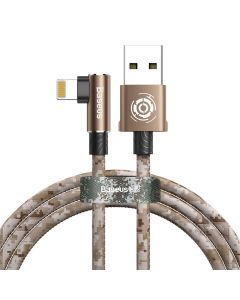 Cablu Lightning Baseus Camouflage Mobile Game Cable Brown