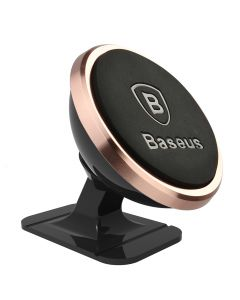 Suport Baseus Auto Magnetic Mounth Holder Rose Gold