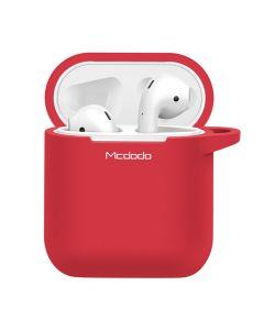 Husa Airpods Mcdodo Silicon Red (cu breloc)