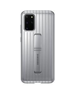 Husa Samsung Galaxy S20 Plus Samsung Protective Standing Silver