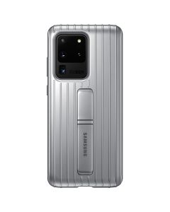 Husa Samsung Galaxy S20 Ultra Samsung Protective Standing Silver