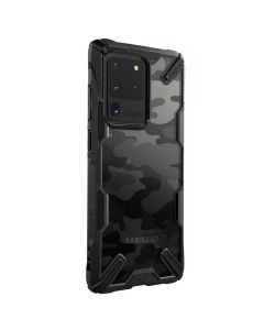 Husa Samsung Galaxy S20 Ultra Ringke Fusion X Negru Camuflaj