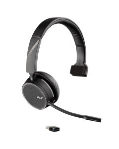 Casca Call Center Bluetooth Wireless Plantronics Voyager 4210 UC USB-A (SoundGuard)