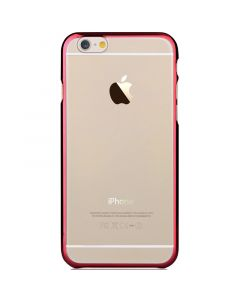 Carcasa iPhone 6/6S Devia Glimmer Passion Red (rama electroplacata)