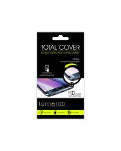 Folie Samsung Galaxy S6 Edge G925 Lemontti Clear Total Cover (1 fata, flexibil)