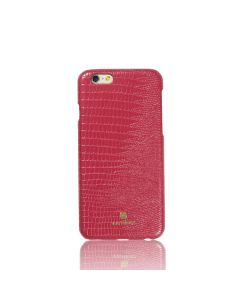 Carcasa iPhone 6/6S Just Must Croco Red