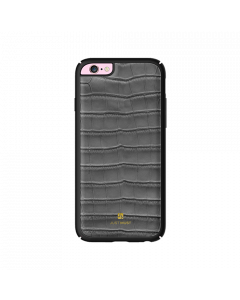 Carcasa iPhone 6/6S Just Must Croco Gray (protectie margine 360�)