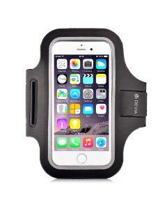 """Husa Universala Devia Armband Sport-Fit Black (pentru smartphone de pana in 5"""")"""
