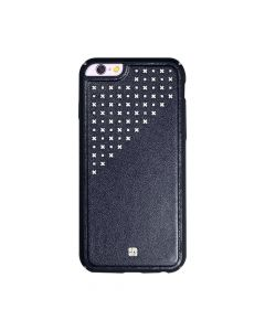 Carcasa iPhone 6/6S Just Must Carve IV Black (protectie margine 360�)