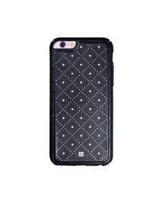 Carcasa iPhone 6/6S Just Must Carve VI Black (protectie margine 360�)