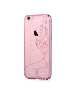 Carcasa iPhone 6/6S Devia Crystal Secret Garden Rose Gold (Cristale Swarovski�