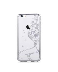 Carcasa iPhone 6/6S Devia Crystal Secret Garden Crystal Secret Garden Silver (Cristale Swarovski�, e