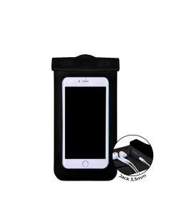 Husa Universala Devia Subacvatica Black (pana la 5.5'', cu adaptor audio 3.5 mm, armband si agatatoa