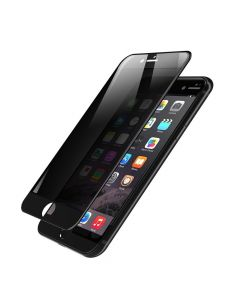 Folie iPhone 7 Plus Devia Frame Sticla Temperata Privacy Black