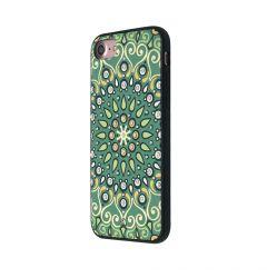 Carcasa iPhone SE 2020 / 8 / 7 Occa Artist Indian Mandala (3D print cu cristale)