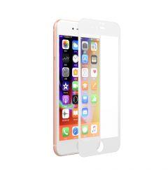 Folie iPhone 8 / 7 Devia Sticla Van Full White (0.26mm, 9H)