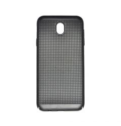 Carcasa Samsung Galaxy J7 (2017) Just Must Simo II Black (gaurele pentru disiparea caldurii)