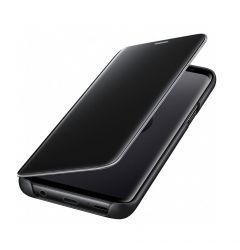 Husa Original Samsung Galaxy S9 G960 Samsung Book Clear View Standing Black