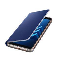 Husa Samsung Galaxy A8 (2018) Samsung Neon Flip Cover Blue