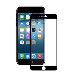 Folie iPhone SE 2020 / 8 / 7 Eiger Sticla 3D Edge to Edge Clear Black
