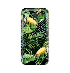 Husa Samsung Galaxy J5 (2017) Lemontti Silicon Art Tropic