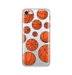 Husa iPhone SE 2020 / 8 / 7 Lemontti Silicon Art Basketball