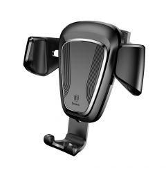 Suport Baseus Auto Gravity Black (prindere la sistemul de ventilatie)