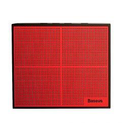 Boxa Wireless Baseus Encok Music-Cube E05 Red & Black