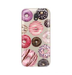 Husa Samsung Galaxy J3 (2017) Lemontti Silicon Art Donuts