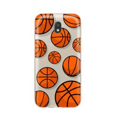 Husa Samsung Galaxy J7 (2017) Lemontti Silicon Art Basketball