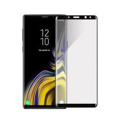 Folie Samsung Galaxy Note 9 Devia Sticla Temperata 3D Black (margini curbate, 9H, 0.26mm)
