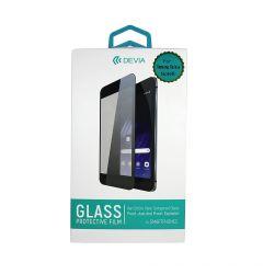 Folie Samsung Galaxy Note 8 Devia Sticla 3D Case Friendly Black (margini curbate, 9H, 0.26mm)