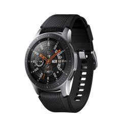 Samsung Galaxy Watch Silver - Curea Onyx Black 46mm (Bluetooth)